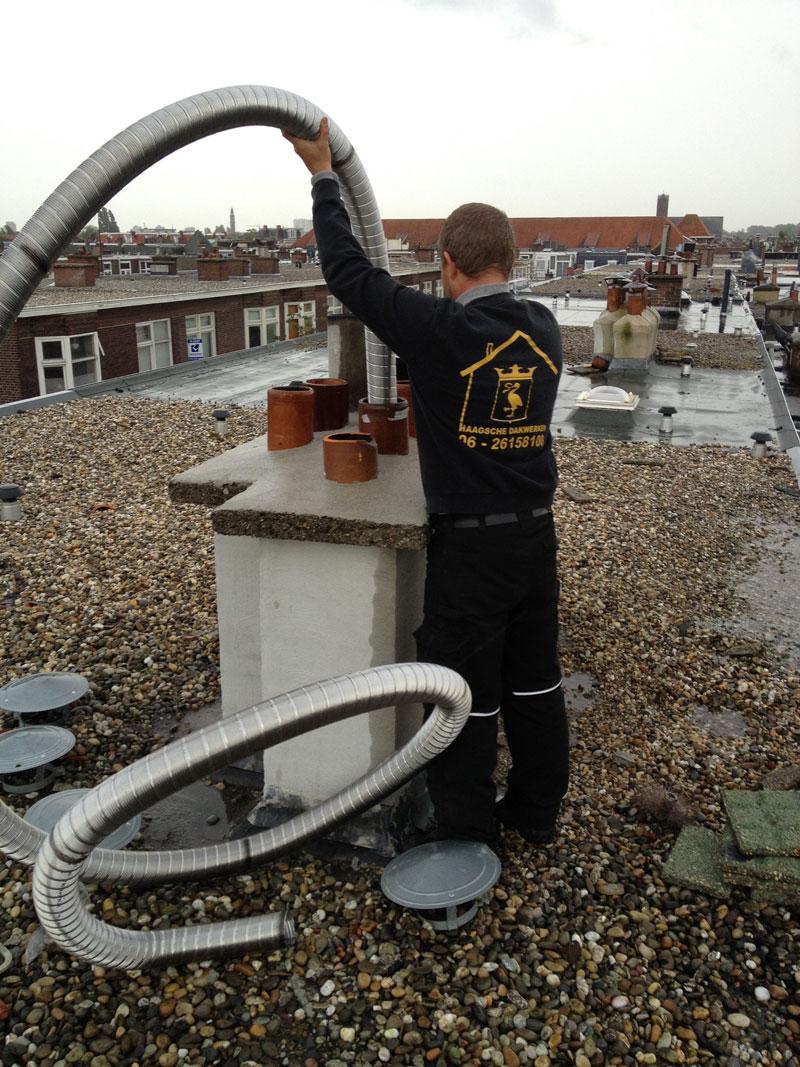 Haagsche Dakwerken is de specialist voor al uw dakwerk en schoorsteen onderhoud